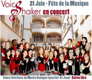 Voice Shaker fête de la musique à Lyon