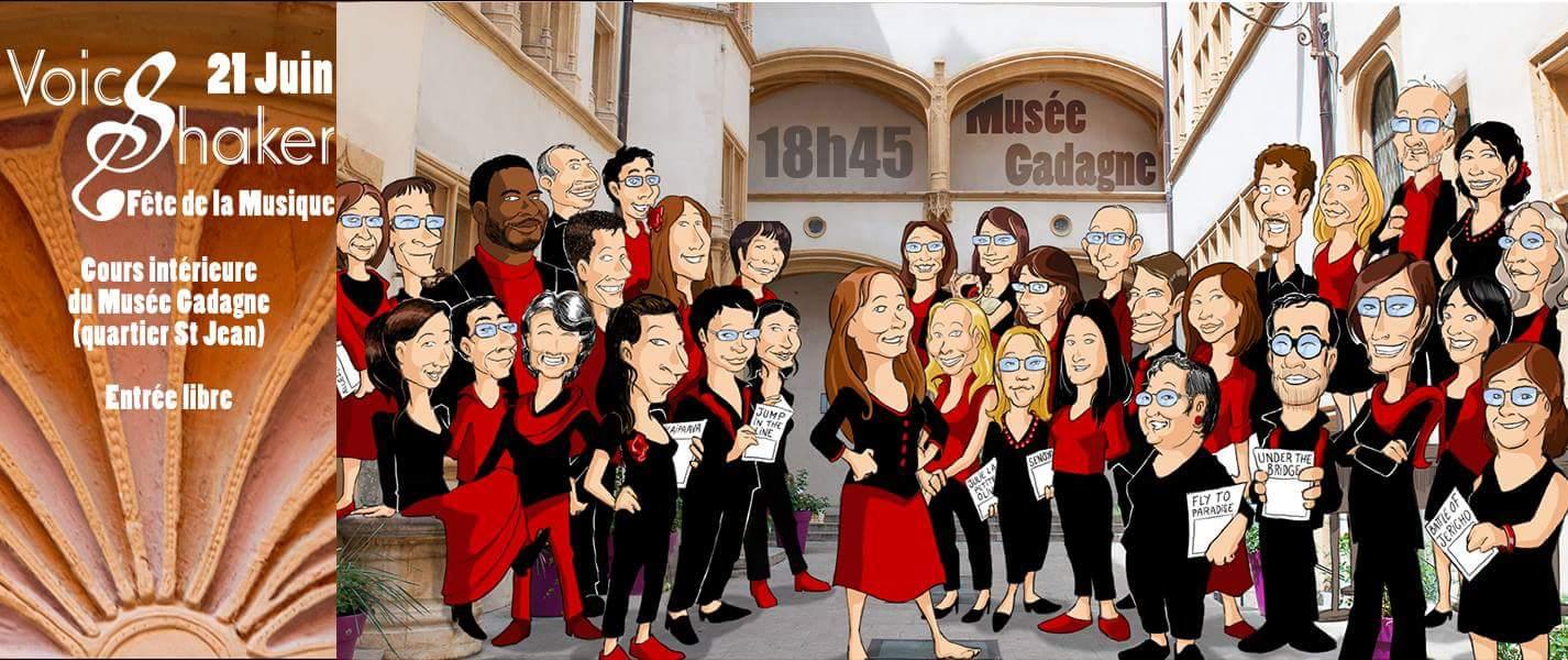 Fête de la musique 2018 / Voice Shaker aux Musées Gadagne